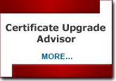 certificate Upgrades advisor